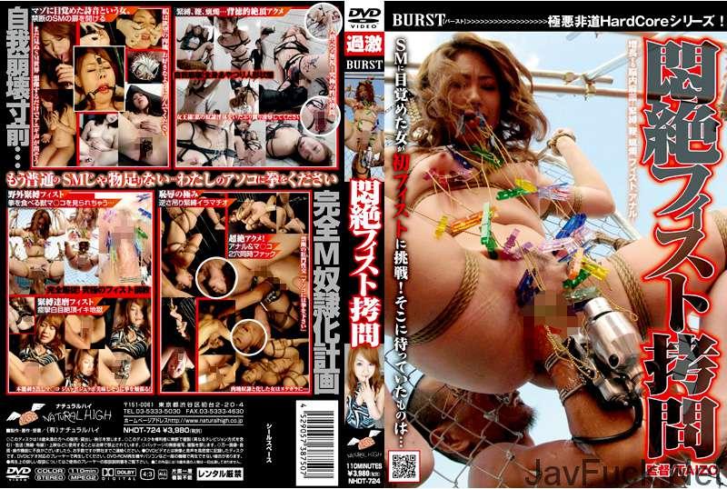 [NHDT-724] 悶絶フィスト拷問 Fist 詩音 Scat Tied 2008/10/23 110分