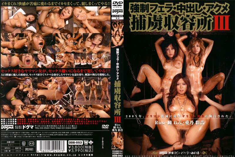 [DDB-053] 捕虜収容所 3RICO・瞳れん・愛乃彩音 118分 Outlet アウトレット