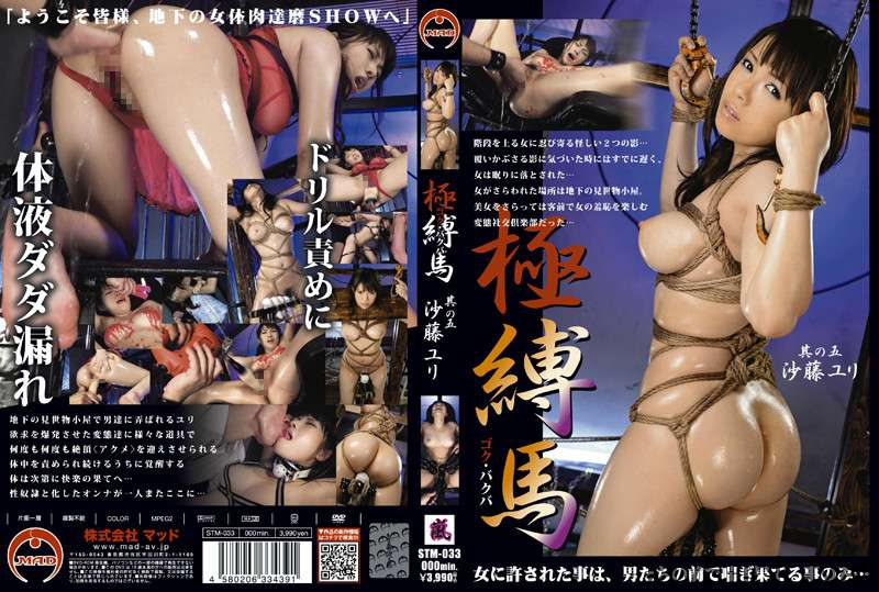 [STM-033] 極・縛馬5 沙藤ユリ Insult Acme Torture SM 115分 2012/09/21 小柄