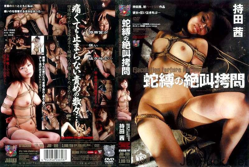 [JBD-099] 蛇縛の絶叫拷問 持田茜 スパンキング・鞭打ち 2007/07/24 Cum