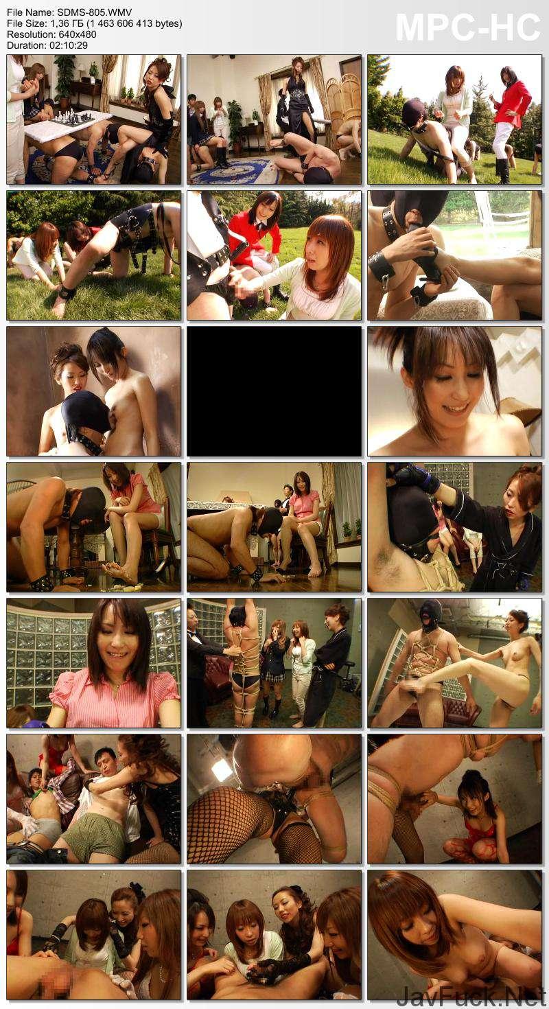 [SDMS-805] 一家の家訓は「女尊男卑」 N県の名門旧家に男を飼う女性上位の女系家族がいた SM 130分 Yuu Uehara SODクリエイト(ソフトオンデマンド) 企画