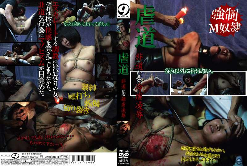 [PHD-022] 虐道 非道なる冷虐凌辱 SM Torture マニア9 Maniac (Mercury)