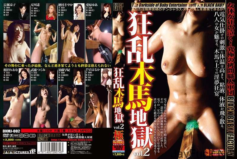 [DXMJ-002] 狂乱木馬地獄 vol.2 SM 2014/05/25