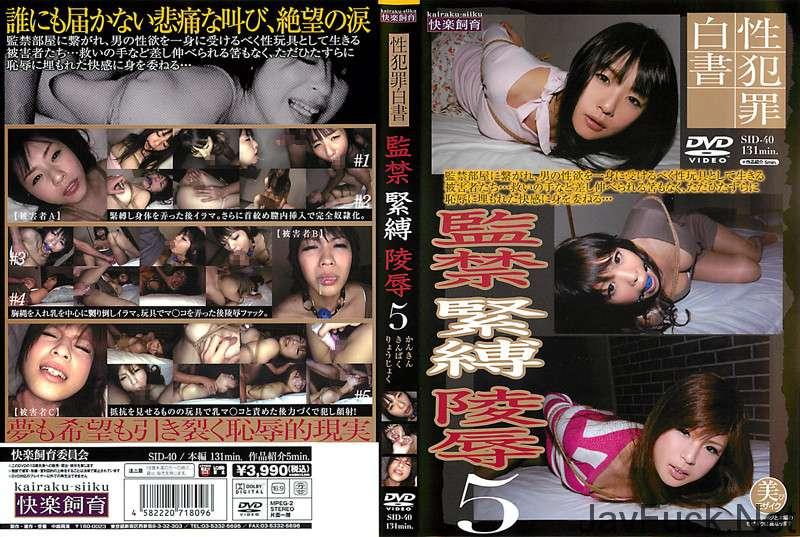 [SID-040] 監禁緊縛陵辱 5 監禁・拘束 Rape