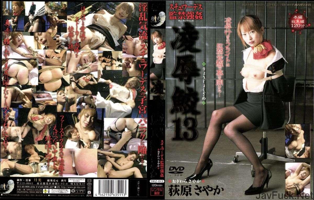 [DRZ-013] Gekkou 凌辱鮫 13 荻原さやか  月光 Costume スチュワーデス 中出し 2003/07/01