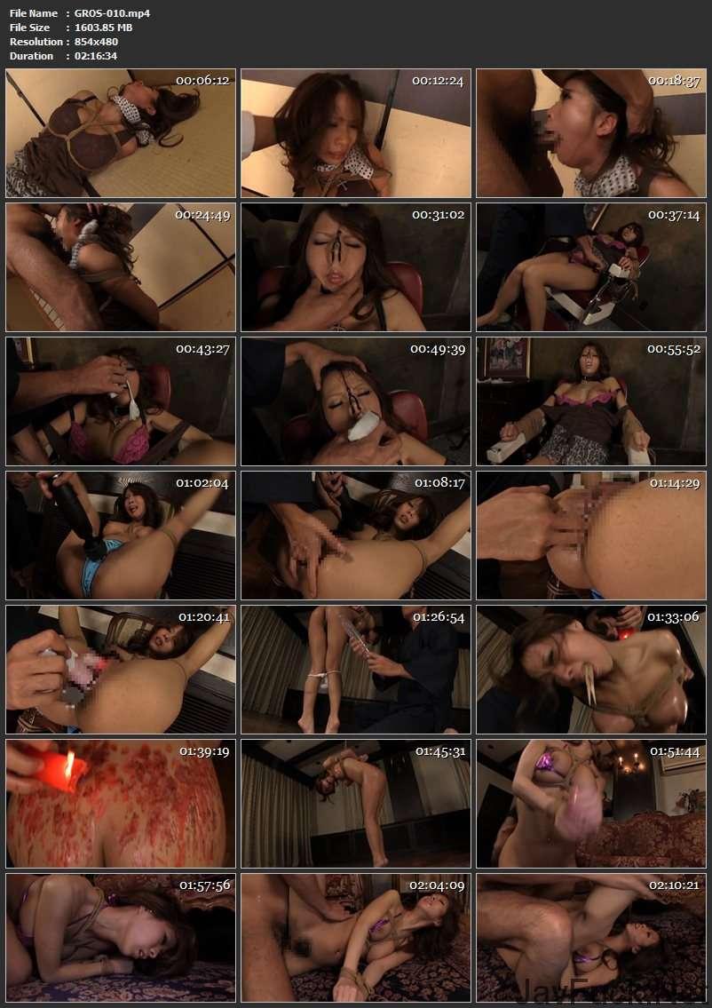 [GROS-010] 希咲エマ 巨乳ギャル拉致 復讐のアナル責め Torture Rape 2013/03/01 Irama Amateur 縛り