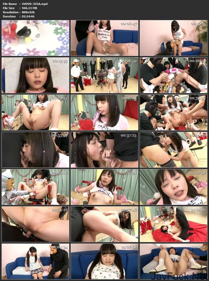 [SVDVD-355] 雪野りこ, 安達柚奈, 大桃りさ おもちゃの国の無垢無垢三姉妹  Sadistic Village