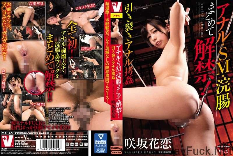 [VICD-374] アナル・SM・浣腸まとめて解禁!引き裂きアナル拷姦 Enema Actress 160分