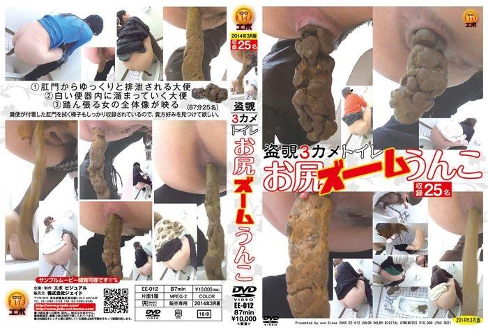 [EE-012] 盗覗3カメトイレ お尻ズームうんこ 脱糞 Post 投稿 エボ・ビジュアル