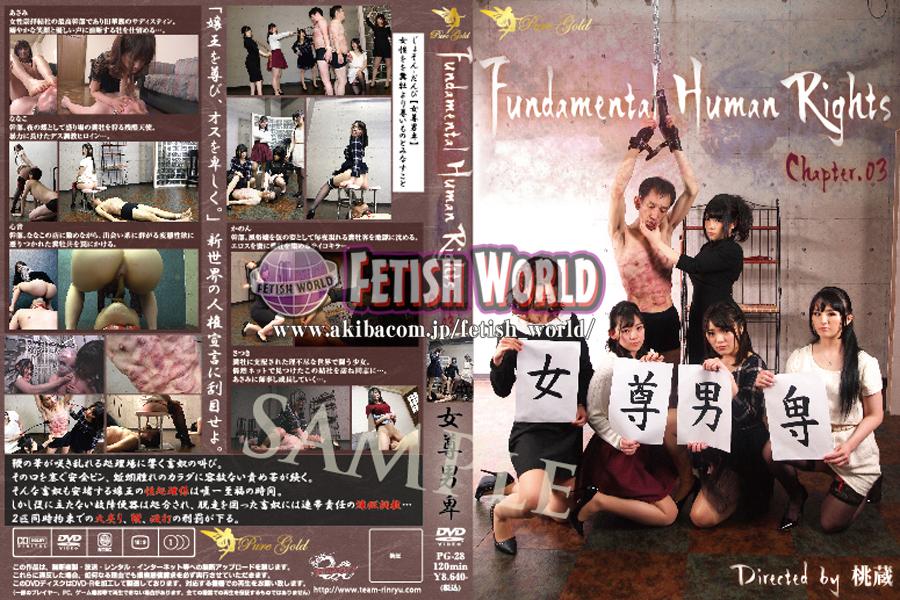 [PG-28] ■買取不可商品■Fundamental Human ... 女王様・M男 SM チーム凛龍 Humiliation