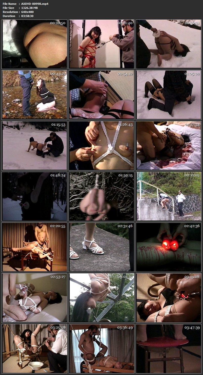 [AXDVD-0099R] 野外露出苛烈調教 4時間志摩特選集 Humiliation アリーナ・エンターテインメント Omnibus