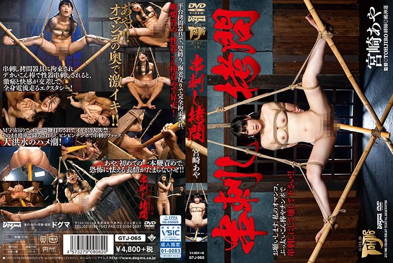 [GTJ-065] 串刺し拷問 TOHJIRO Humiliation スパンキング・鞭打ち ドグマ Torture