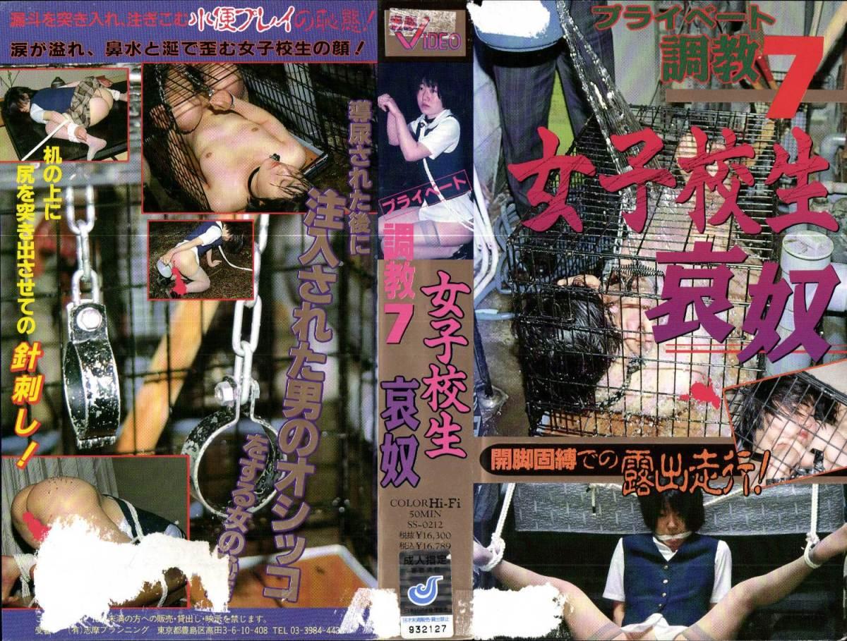 [SS-0212] プライベート調教 0 女子校生哀奴     1993/07/09 50分 Torture 辱め