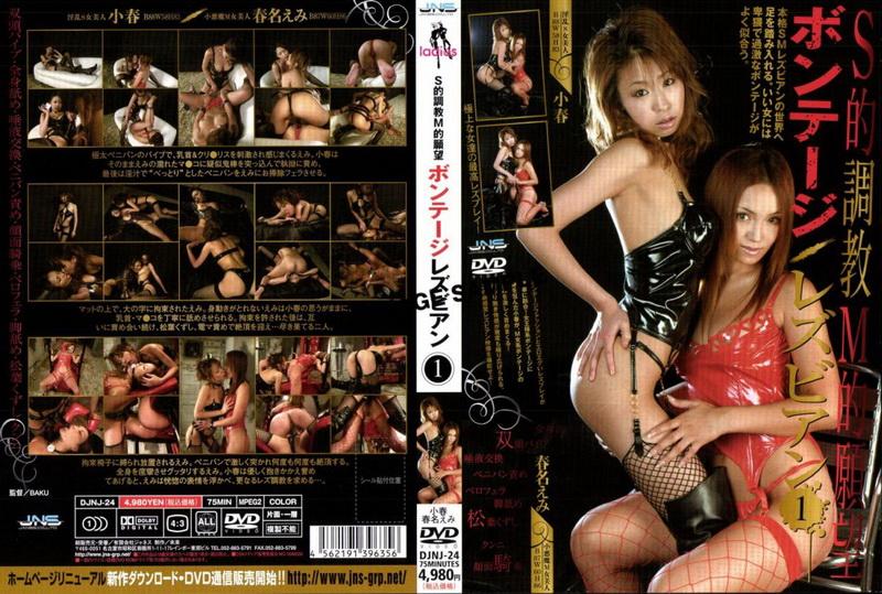[DJNJ-24] Haruna Emi S的調教M的願望 ボンテージレズビアン 1 Natsukawa Miku Bondage